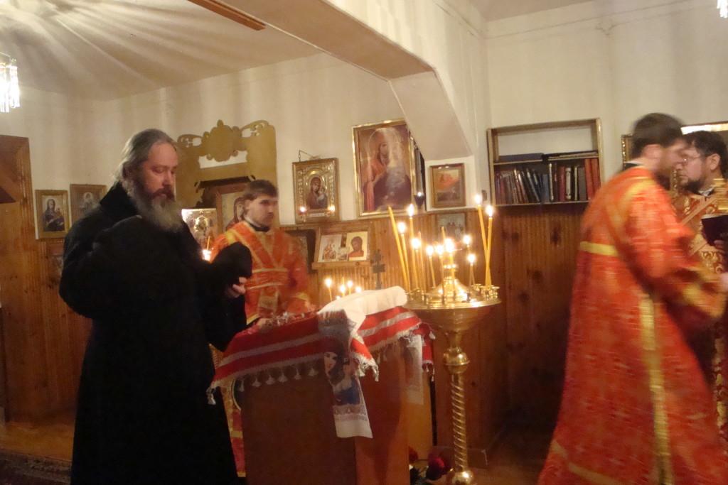 21.11.2013 Архиерейское богослужение